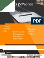Personas  y organizaciones (1)