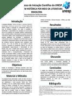 PAINEL-CIC XXXII- APRENDIZAGEM HISTÓRICA POR MEIO DA LITERATURA BRASILEIRA
