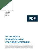 U5. TÉCNICAS Y HERRAMIENTAS DE COACHING EMPRESARIAL