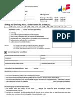 Antrag-Erteilung-Fahrerlaubnis