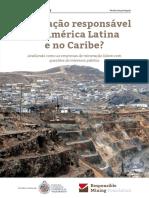 Mineração Responsável Na América Latina e Caribe