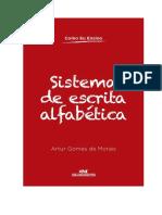 Sistema de Escrita Alfabética - Artur Gomes de Morais