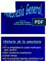 2 Anestesia General