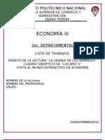 Reporte de Economía 3