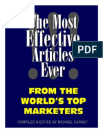 The Most Effective Articles