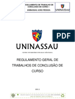Regulamento TCC -  2021.2