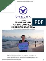 Feminismo Na China_ Conheça Hooligan Sparrow _ Ovelha