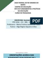 Orientação do MAPA MENTAL e VÍDEO.ppt