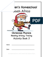 Christmas Phonics Activity Book, Donnette Davis, St Aiden's Homeschool