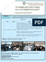 Programa Taller Afip II