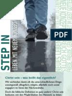STEP IN - Leben mit neuem Konzept