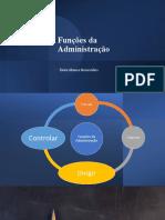 Funções Da Administração - Dirigir e Controlar