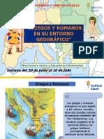 Griegos y Romanos en Su Entorno Geográfico 1