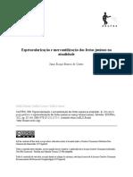 CASTRO Espetacularização e Mercantilização Das Festas Juninas Na Atualidade