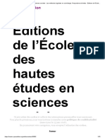 Gardin La Cumulativité Du Savoir en Sciences Sociales - Les Méthodes Logicistes en Archéologie. Perspectives Et Limites
