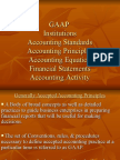 Generally Accepted Accounting Principles [GAAP]