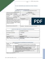 Ficha de registro de experiencias significativas FEN2021