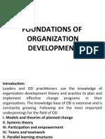 Chapter - 4 Foundations of Organization Development