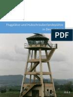 Flugplaetze Und Hubschrauberlandeplaetze in Deutschland