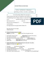 Schriftliche Pruefung A1.3