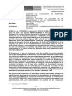 RESOLUCIÓN 0552-2021/SEL- INDECOPI