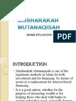 MUSHARAKAH MUTANAQISAH slide
