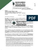 Carta Notarial de Requerimiento de inmueble