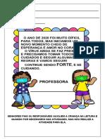 1ª LEVA DE ATIVIDADES REMOTAS 1 ANO 08-02-2021 A 26-02-2021