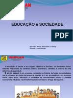 Apresentação1.pptx TRABALHO EDUCAÇÃO E SOCIEDADE PRESSUPOSTOS EPIS DA EDUCAÇÃO
