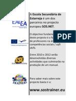 SOS.net Estarreja's poster
