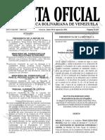 Gaceta Oficial N°42.201