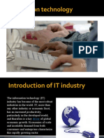 Introduction of IT Industry