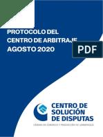 PROTOCOLO _ CENTRO DE ARBITRAJE _ CCLAM _ AGOSTO 2020 (1)