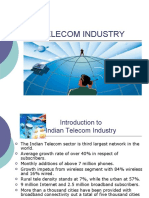 telecom industry ppt