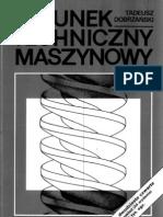 Rysunek techniczny maszynowy - Tadeusz Dobrzański