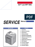 DELL 1600n Samsung SCX-4720F Service Manual Parts and Diagrams