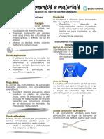 Instrumentos e Materiais de Detística