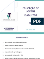 Currículo EJA 2019 Parte 1