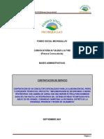Primera Conocatoria N°020-2021-FSM +TDR reservorio Rio Grande