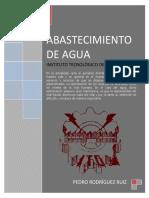 Abasteciemiento de Agua - Pedro Rodríguez Ruiz - Completo