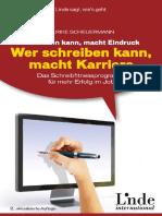 Scheuermann, Ulrike - Wer Reden Kann, Macht Eindruck - Wer Schreiben Kann, Macht Karriere