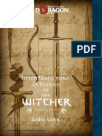 Old Dragon -The Witcher Inventário