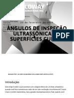 Ângulos de inspeção ultrassônica em superfícies curvas - Holloway NDT e Engenharia