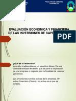 EVALUACION DE PROY. INVERSION