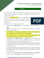 Aula 00 - Orçamento Público e Princípios Orçamentários