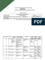 plan calendario de fisiologia diurno