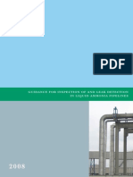 EFMA Ammonia Pipeline Guidance 2008