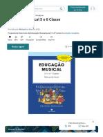 Educação Musical 5 e 6 Classe   PDF   Notação Musical   Escala (Música)_1630665532420