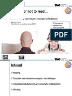 3D Nieuwsconsumptie presentatie 180311