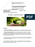 Material  7º - Aula - Reciclagem docx